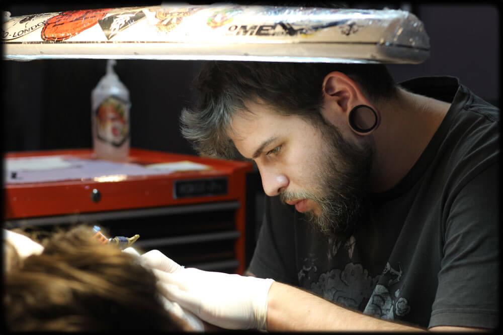tattoo artist ido